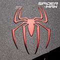 2 unids La alianza vengadores Spider-Man reactor pegatinas metal 3D Aleación De Metal De Níquel Etiqueta Engomada del teléfono pegatina Computadora Del Coche etiqueta