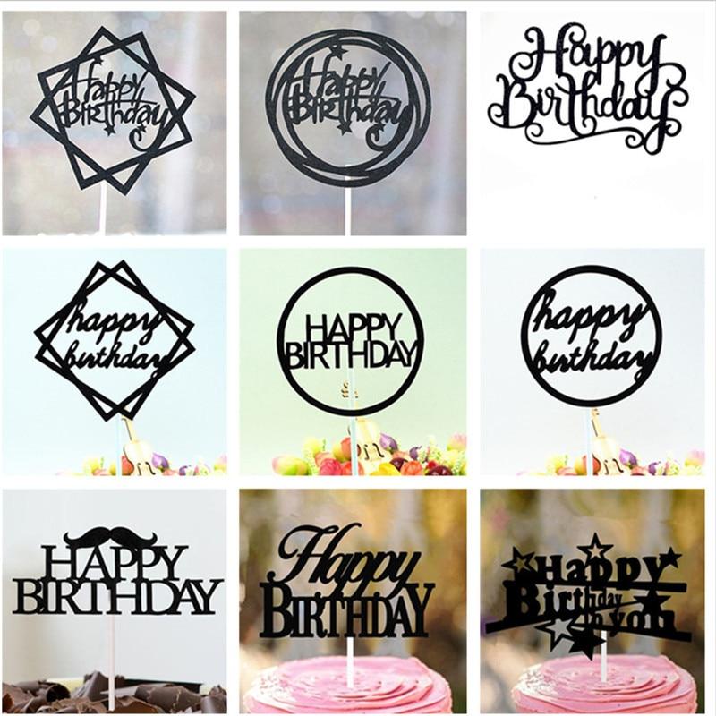 Strange Happy Birthday Cake Topper 1St Birthday Cake Toppers Birthday Birthday Cards Printable Nowaargucafe Filternl