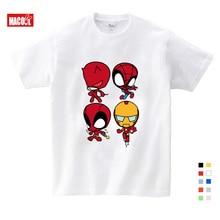 boys clothes T-shirt Superman/Batman/spider Man/captain America /Hulk/Iron Man / T Shirt Boy Girls Printing 3T-9T