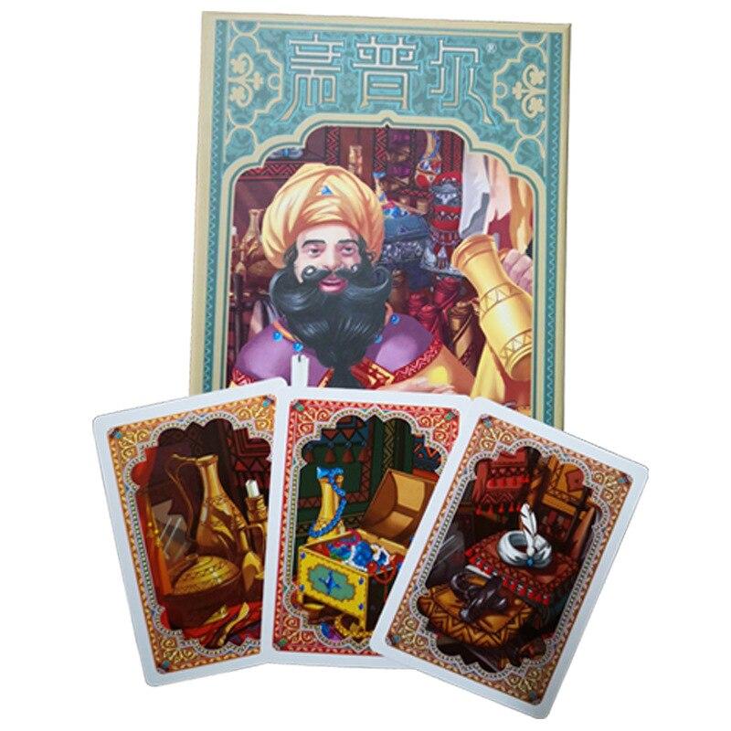 Jaipur tarjetas juego de joyería de comercio 2 jugadores juego de mesa estrategia en transacciones reunión juego versión china juegos de interior