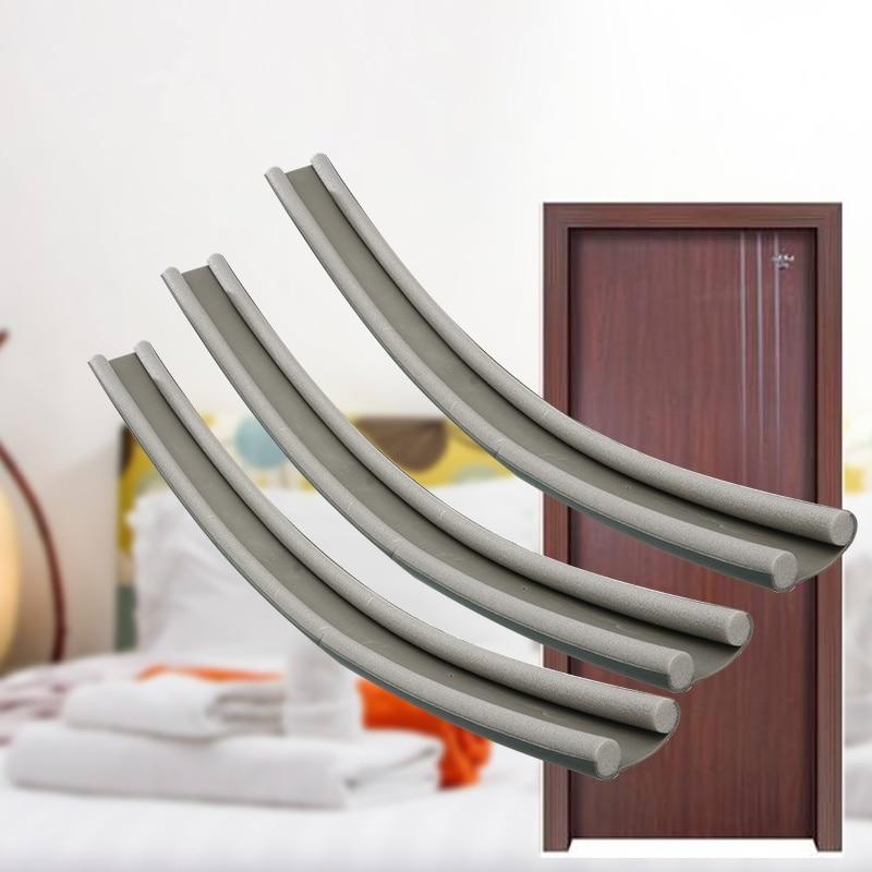 1M cheap door seal soundproofing Security Door Bottom Seal draft stopper windproof dustproof Seal Film Furniture Hardware popupshop popupshop seal 28437019