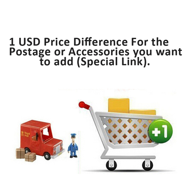 Special link for  additional pay your required shipping method or add some accessories.