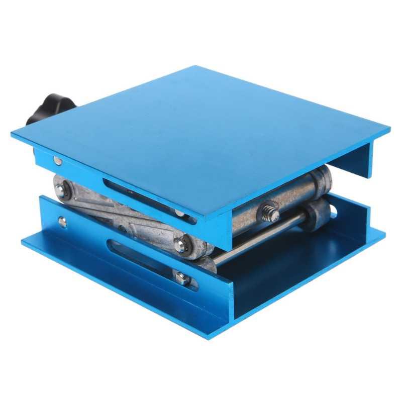 """4 """"x 4"""" Алюминиевый маршрутизатор подъемный стол Деревообработка Гравировка лаборатория подъемная стойка"""