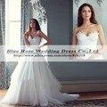Vestido Де Noivas Принцесса 2014 Тюль Бальное платье Импортные Свадебные Платья Рюшами Дешевые Свадебные Платья Китай Платье Невесты Casamento