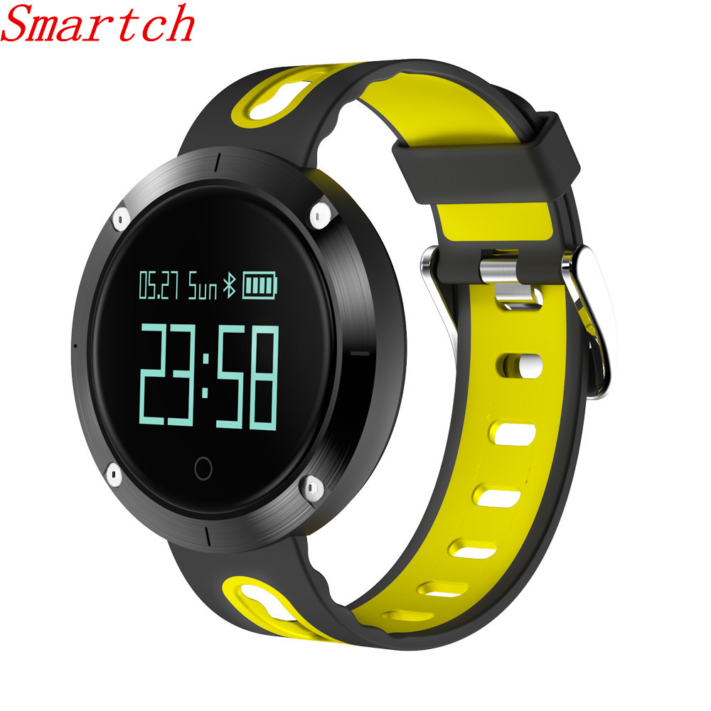 Smartch Smart Bracelet DM58 Blood Pressure Heart Rate Sleep Monitor Pedometer Message Reminder Waterproof Wristband for