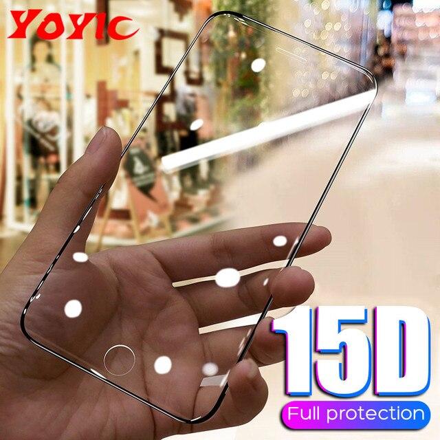 מגן זכוכית על עבור iPhone 6 6s 7 8 בתוספת X XR XS מקס זכוכית מסך מגן עבור iPhone 11 פרו מקס SE 2020 מזג זכוכית