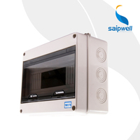 2014 Saip SHT 12 Newest Grey Electrical Junction Box Waterproof Distribution Box IP67