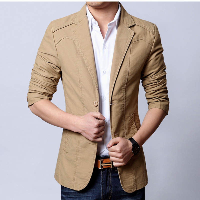 Online Get Cheap Men's Casual Slim Suit Blazer -Aliexpress.com ...