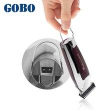 GOBO HEIßER Verkauf 0,1mm Professional Hair Clipper Haar Cutter Wiederaufladbare Haar Clipper Haarschnitt Barber Clippers Haar Trimmer
