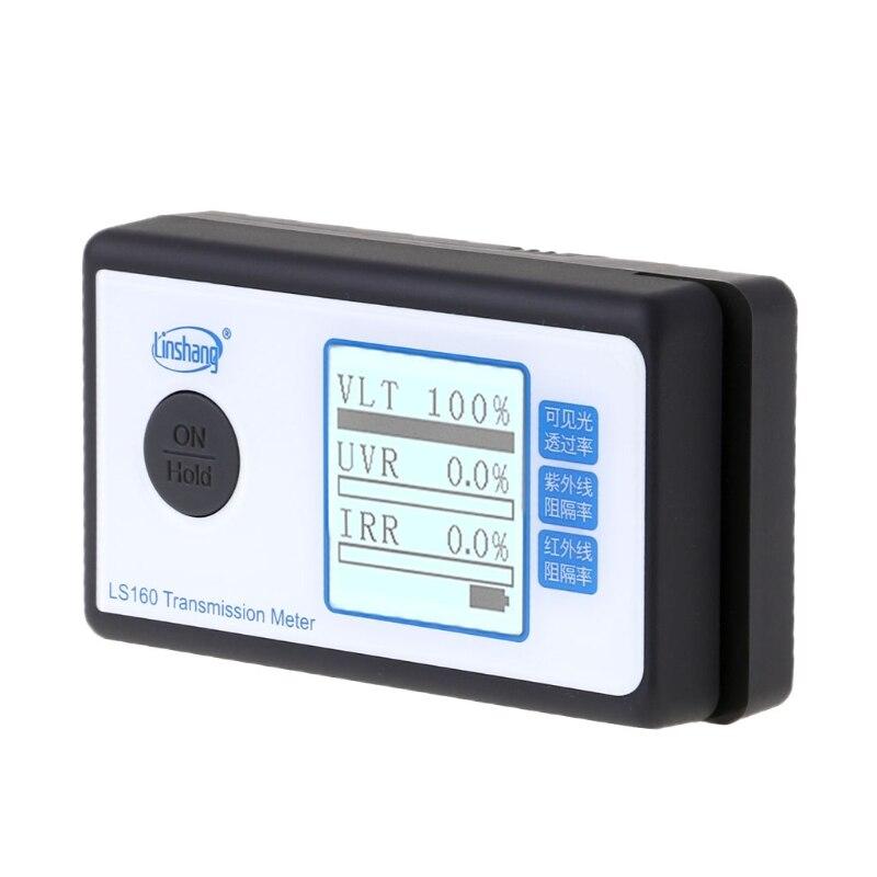 LS160 Portable solaire Film Transmission compteur fenêtre teinte VLT UV IR rejet 649E