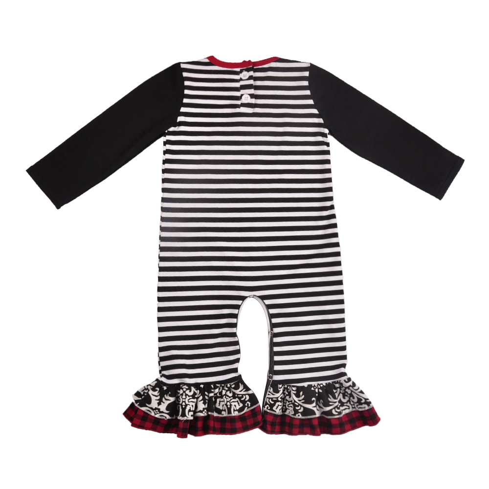 9196352925c3 Hot Sale Christmas Persnickety New Fashion Baby Romper Baby Deer Embroidery  Multiple layers Ruffle Clothes Kid Rompers -in Rompers from Mother   Kids  on ...