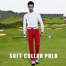Camisa de golfe Homens Ao Ar Livre UV Proteger Protetor Solar Camisa Gelo Tshirts Esporte Roupas Sólida Camisa de Manga Longa Roupas de Vestuário de Golfe