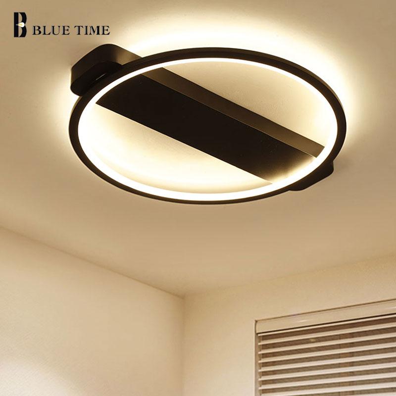 Schwarz Moderne Led Deckenleuchte Für Wohnzimmer Schlafzimmer Esszimmer  Leuchte Deckenleuchte Led Lüster Hause Leuchten