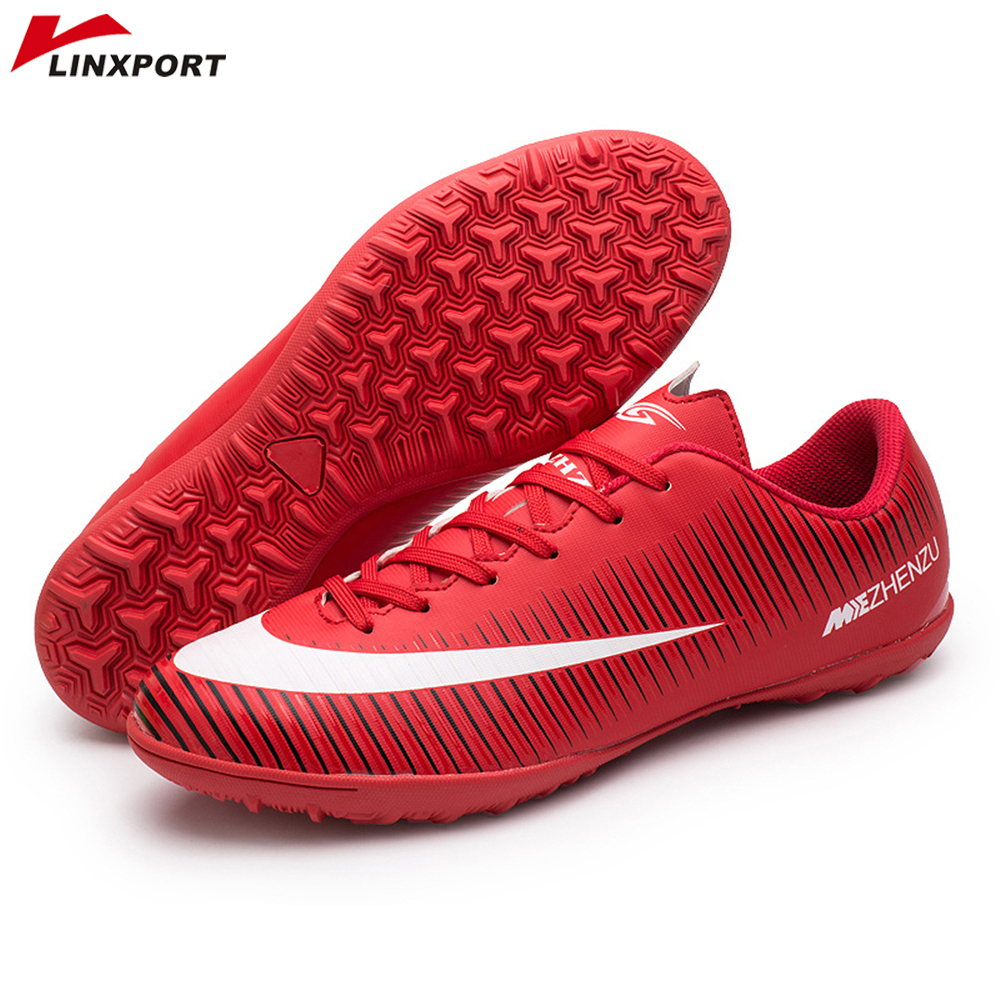 Professional Soccer Cleats Shoes Low Top TF Adult Kids Soccer Football Boots Trainer Outdoor Sports Sneakers Men chuteira futsal 2 in 1 outdoor indoor kids sports soccer