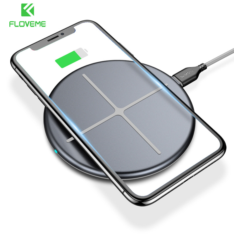 FLOVEME Wireless Charger For iPhone X 10