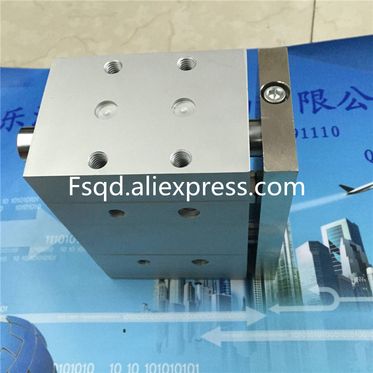 DFM-63-50-P-A-KF FESTO Pneumatic cylinder with guide bar air cylinder air tools  DFM series new authentic german festo cylinder dfm 12 20 p a kf 170900