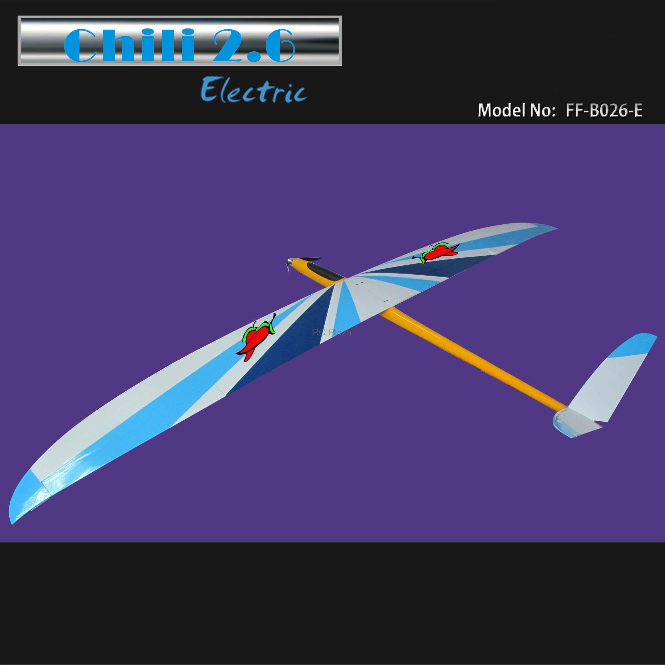 60c3764236c FlyFly Hobby Geronimo Electric Glider 2600mm ARF with Motor Propeller  Spinner Esc Servo RC Fiberglass Sailplane