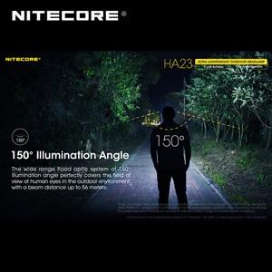 Image 4 - אולטרה קומפקטי NITECORE HA23 AA חיצוני פנס עם שני משלוח AA סוללות