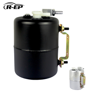 Image 1 - R EP Brake Booster Vacuum Pump Canister Reservoir Tank Aluminium Alloy Can Universal Fits for Chevy Mopar for Drift Track
