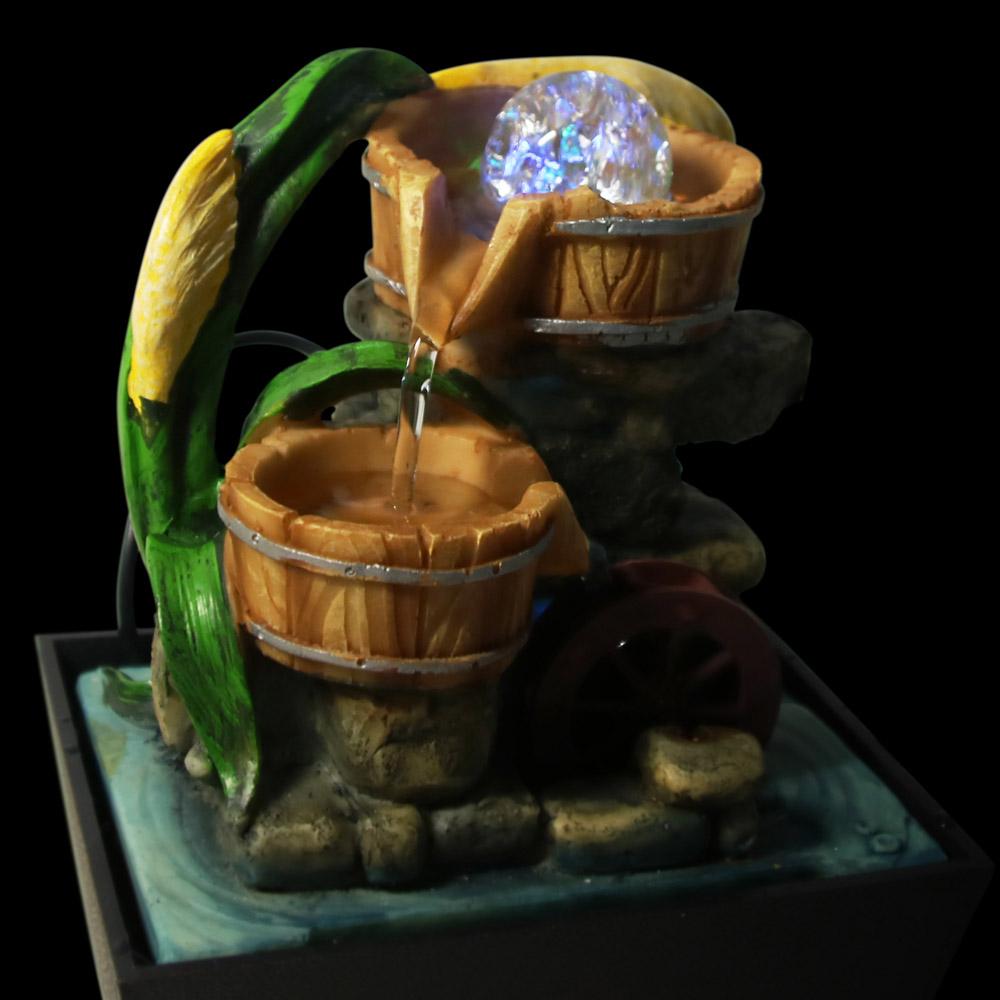 envo gratis piezas de resina zen garden fuente de feng shui fuente de agua de