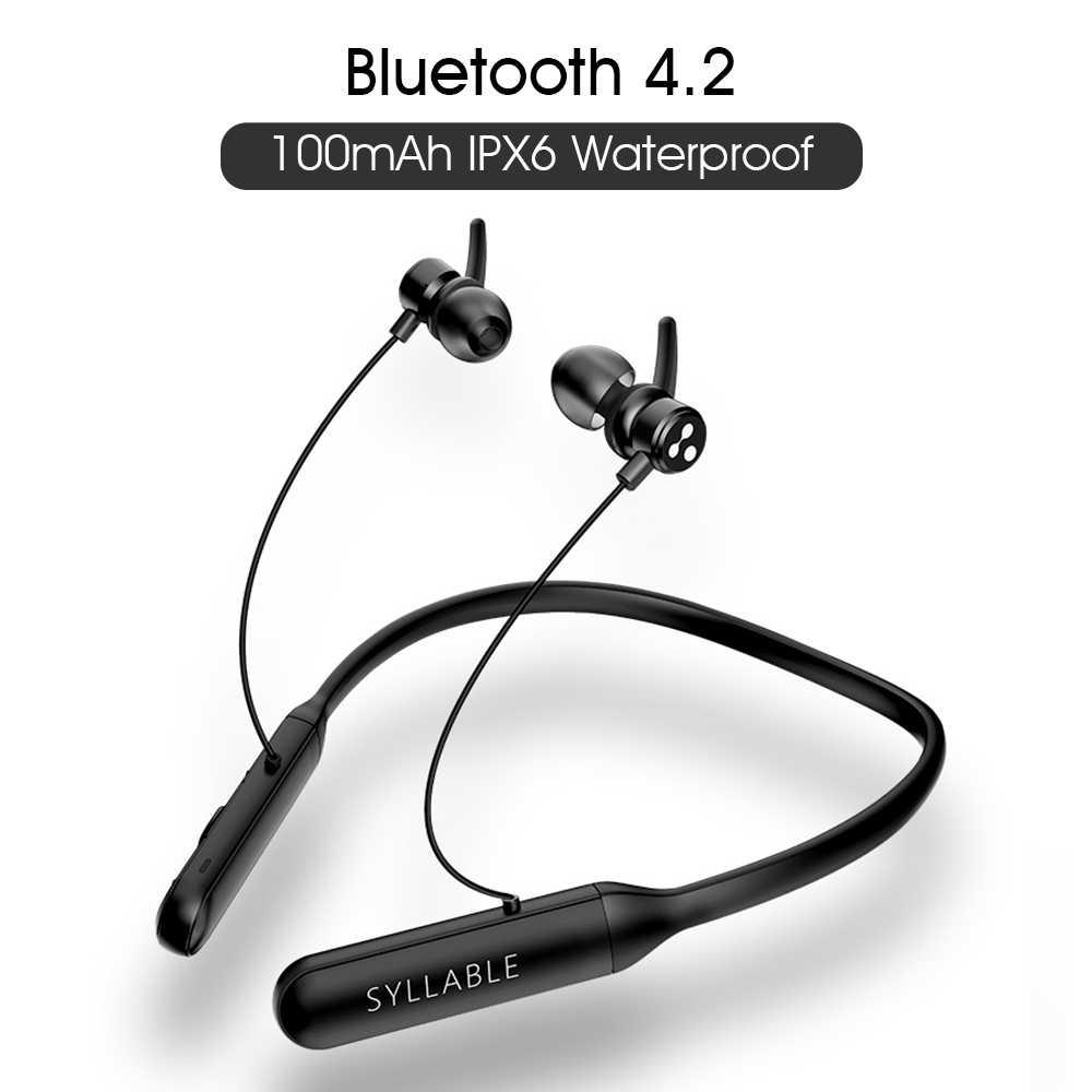 Original sílaba Q3 control de volumen auricular bluetooth 6 horas auricular batería capacidad 100mah auriculares