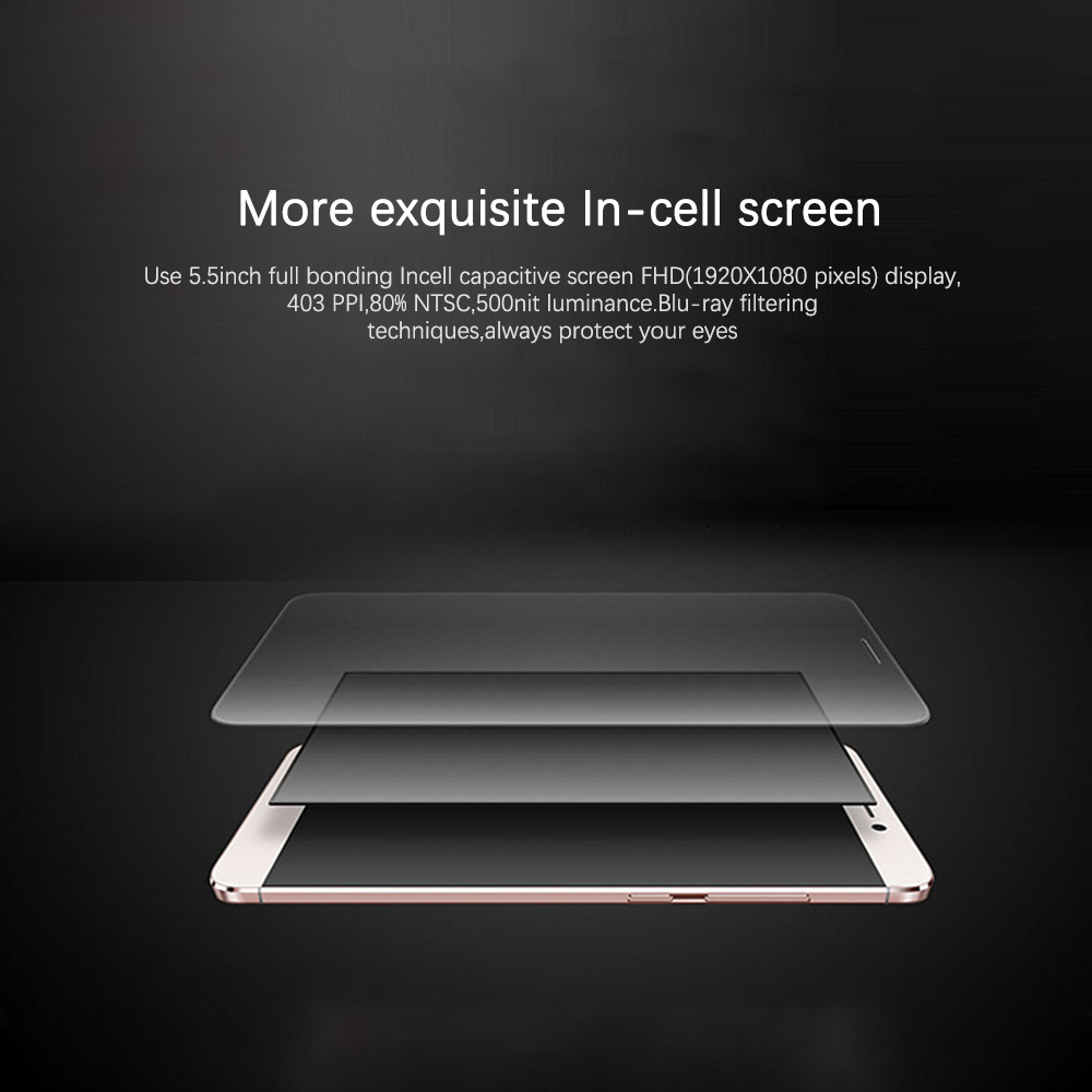 Originale LeEco Letv Le Max X900 Smartphone 6.33 ''3400 mAh Snapdragon 810 Octa Core 4GB di RAM 64GB ROM Android Del Telefono Mobile - 6