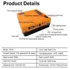 AU Plug Draagbare Auto Jump Starter Power Bank 12V Inflator Luchtpomp Booster Emergency Charger Waarschuwen Licht Batterij 16800mAh - 5