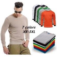 ZOGAA New men sweatshirt Casual streetwear Long sleeve round neck cotton padded pullover sweatshirt 7 colors Size plus XS-XXXL недорого
