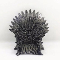 2018 Promotion Lps Moana Movies Periphery Right Real Game Of Thrones 38# Iron Throne Pvc Funko Pop Toy Figure Free Shipping