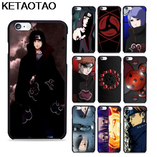 KETAOTAO NARUTO Akatsuki Pain Konan Deidara Fit Phone Cases for iPhone 4S 5C 5S 6S 7