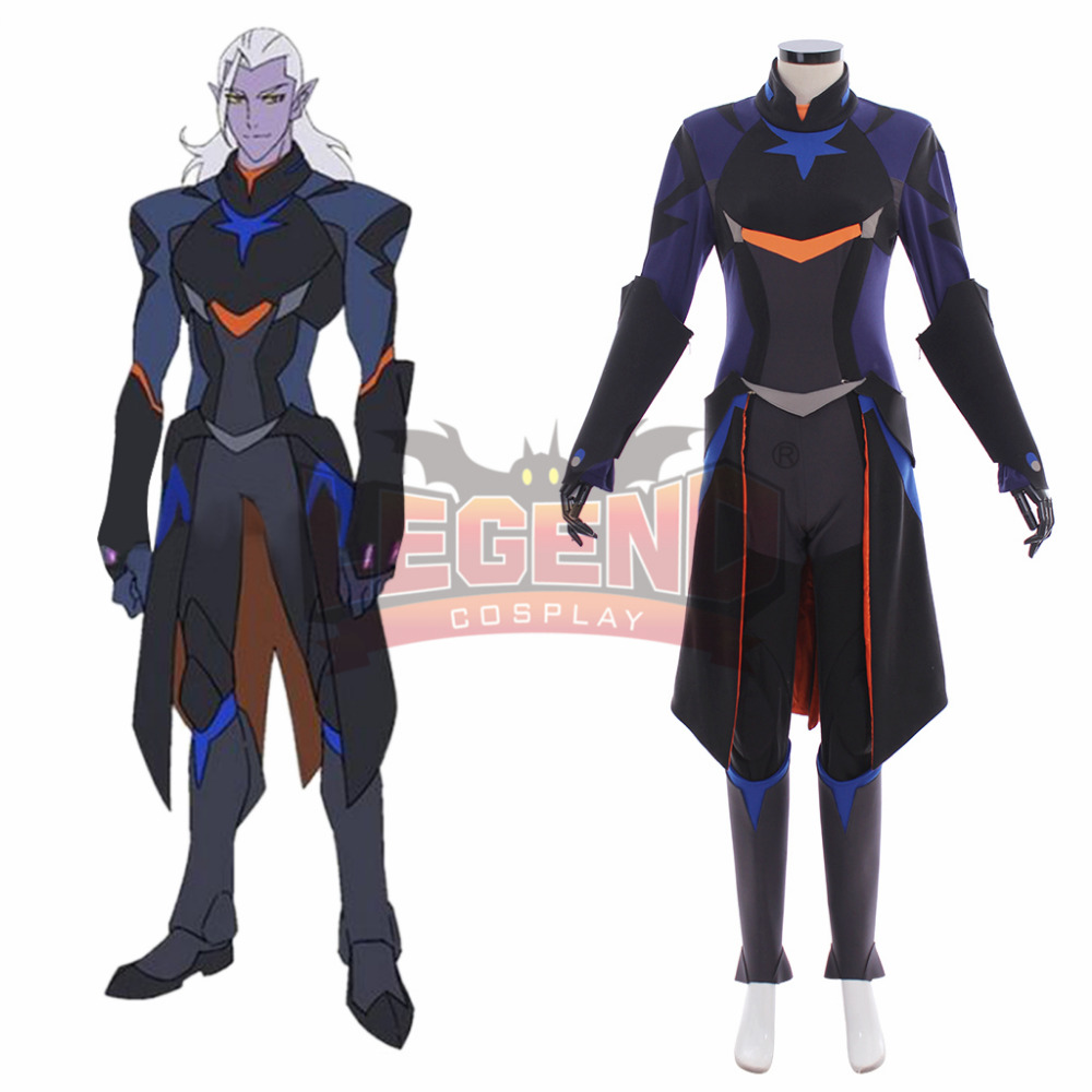 Voltron:Legendary Defender Lotor Cosplay Costume voltron cosplay full set All Size