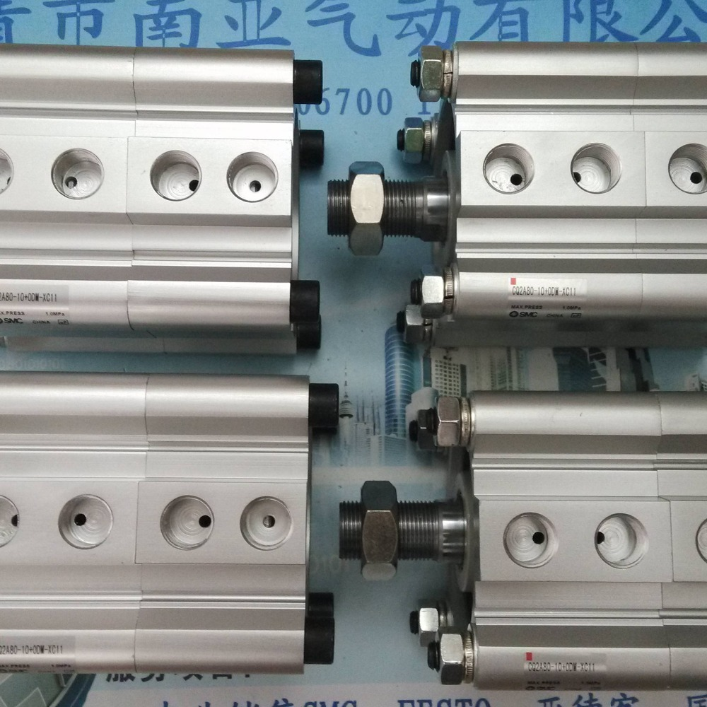 SMC CQ2A80-10+0DM-XC11 thin cylinder air cylinder pneumatic air tools SMC CQ2A series smc cdrq2bw20 180 air cylinder pneumatic air tools smc series
