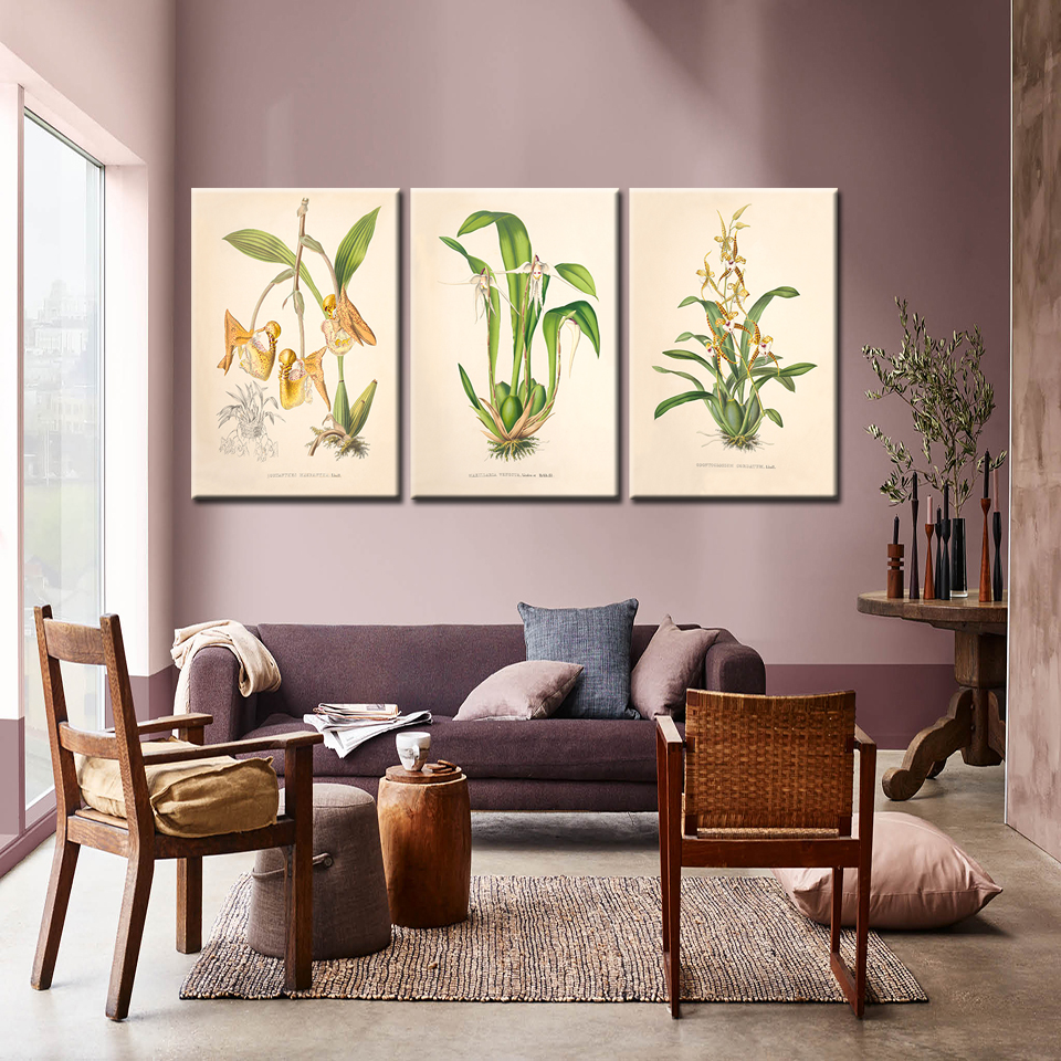 Watercolor, Style, Living, Plant, Green, Room