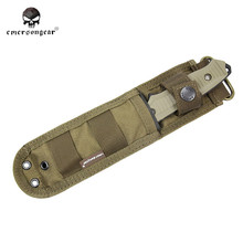 EMERSON Military Army Airsoft Hunting Dummy Knife Plastic Cover Pouch Combat Gear Nylon Knife Shealth Hunting Accessory EM3330 ^