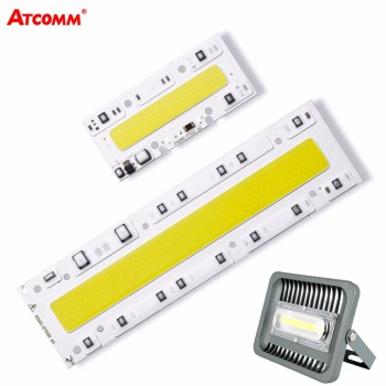 LED Matrix 30W 50W 70W 100W 150W Cob LED Lamp 110V 220V Smart IC High Lumen LED Diode Bulb For Outdoor Projector Floodlight image