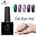 Saviland 1 unids 10 ml Ojo de Gato Imán de Colores de Esmalte de Uñas de Gel Gel esmalte de Uñas de Larga Duración de Alta Calidad Uñas de Gel