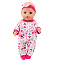 Born New Baby Fit 18 inch 43cm Clothes For Doll Blue Pink Red Star with HairHand Clothes Accessories For Baby Birthday Gift born new baby fit 18 inch 43cm clothes for doll blue pink red star with hairhand clothes accessories for baby birthday gift