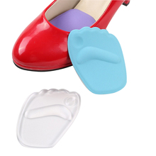 2 pairs Women's High Heel 3D Forefoot Shoe Pad Insoles silicone Cushion Protect Comfy Feet Palm Care Pads Shoe Accessories