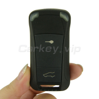 Remotekey Flip remote car key 434 mhz 2 button for Porsche Cayenne 2003 2012