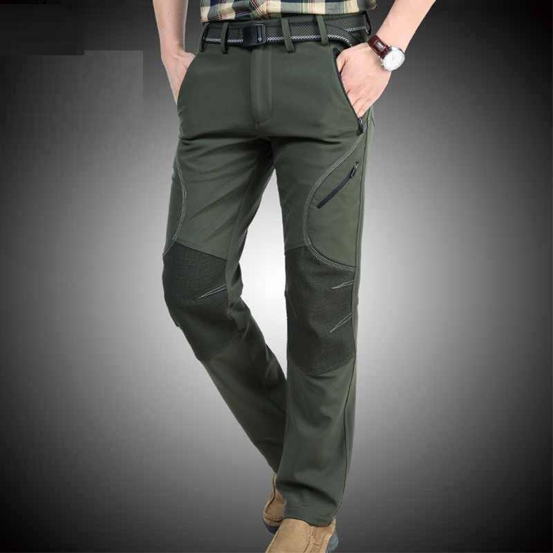 Kış günlük erkek pantolonları Savaş aktif Baggy Pantolon pamuklu pantolon Erkekler için Askeri Kamuflaj Taktik Sweatpants Erkek
