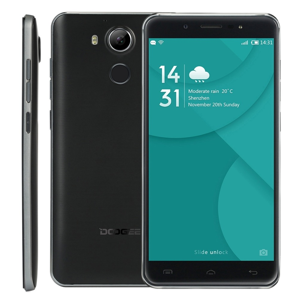 Original DOOGEE F7 5 5 Inch 1920 1080p Android 6 0 MTK6797 Deca Core Mobile Phone