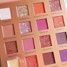 FOCALLURE yeni Sunrise göz farı paleti Glitter mat Pigment göz farı gevşek toz lüks kaliteli göz farı
