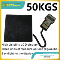 50Kgs Capacity High Resolution Refrigerant Scale For Refrigerated Cabinet Or Bottle Cooler Or Beverage Deck Replace