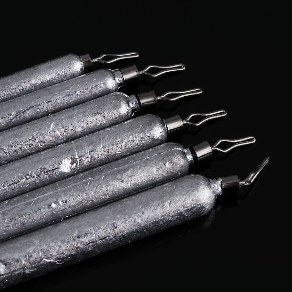 Drop Shot Weights Sinker Finesse Pensil Lead Bass Pike Perch Chub Fishing Tackle