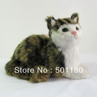 free shipping house decor unique gift art model cat sculpture ornament cat love cat for home decoration