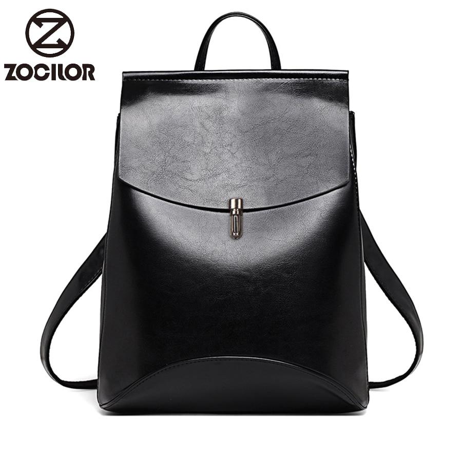 HOT Fashion Women Backpack High Quality Youth Leather Backpacks for Teenage Girls Female School Shoulder Bag Innrech Market.com