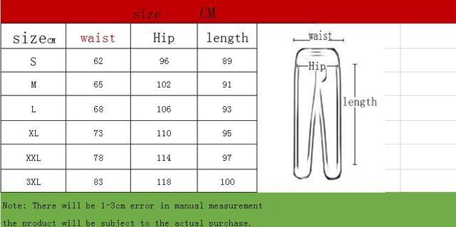 Pant Streetwear Punk Casual Trousers Joggers Male Black cargo pants men