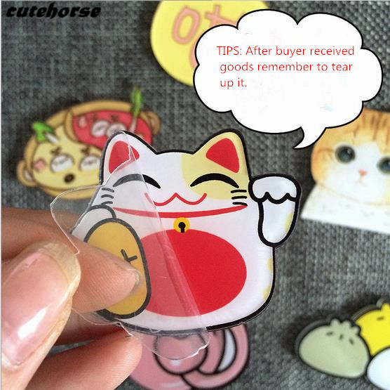 CUTEHORSE high quality cartoon series Korean cartoon star series fridge magnets tape whiteboard acrylic magnetic stickers