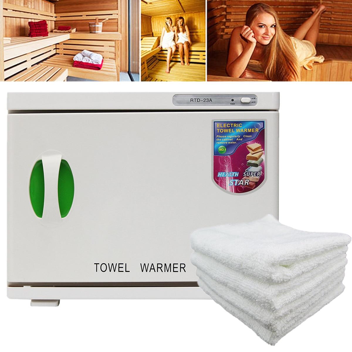 Hot Asciugamano Viso Scaldino Sterilizzatore UV 23L 100-240 v/AC Cabinet HDisinfection Salone di Bellezza Spa Riscaldamento Sterilizzatore di stoccaggio Asciugamano