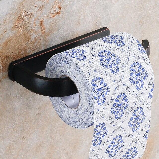 Super De luxe or/Noir Porte Papier Toilette Poli Tissu Boîte En Laiton  BG16